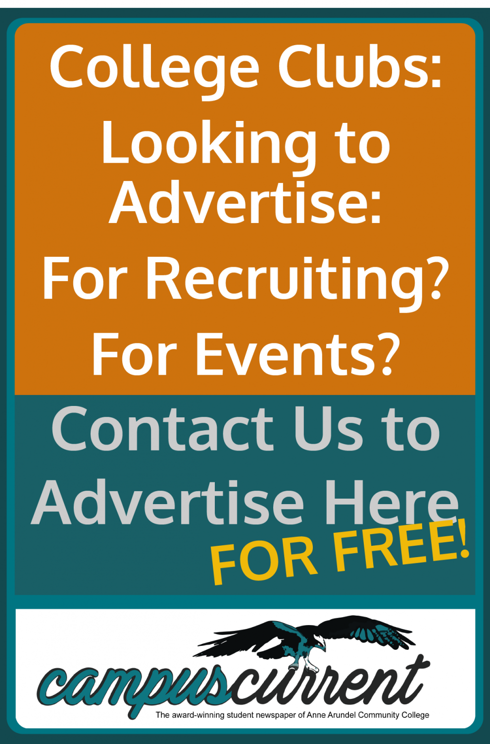 College Clubs: Looking to Advertise: For Recruiting? For Events? Contact Us to Advertise Here FOR FREE!