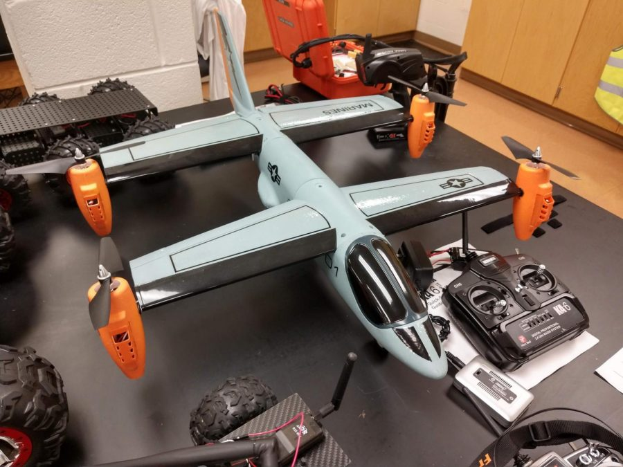 AACC's student Drone Club will meet in April for the first time in a year.