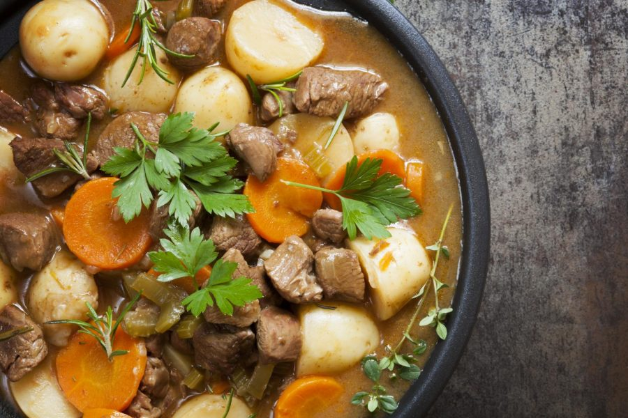 AACC's celebration of Irish American History Month includes a virtual class on cooking Irish stew.