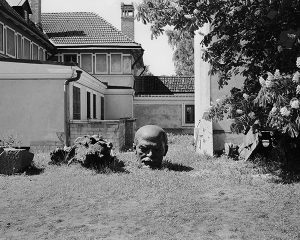 Photo of statue by Professor Matt Moore